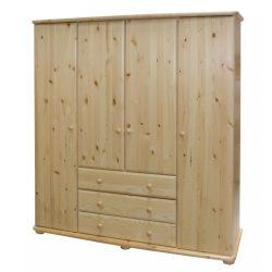 Gála 4 ajtós 3 fiókos szekrény